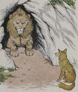 Λιοντάρι και αλεπού