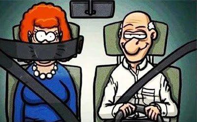 Μόνο έτσι ο άντρας μπορεί να οδηγήσει καλύτερα