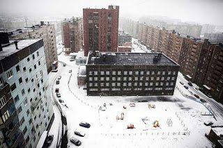 Το Norilsk είναι η βορειότερη πόλη της Σιβηρίας