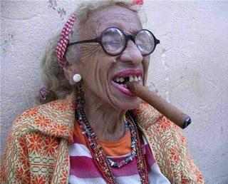 Η τρομερή... γιαγιά