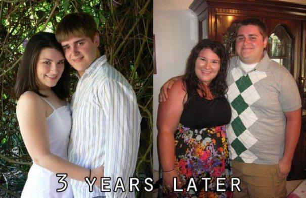 Πως ήταν και πως έγιναν μέσα σε τρία χρόνια σχέσης