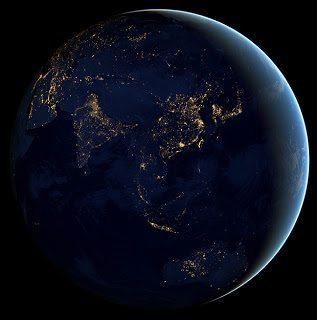 Να πως φαίνεται η γη απο δορυφόρο