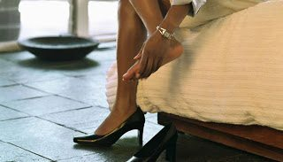 Πως να μην σας χτυπάνε τα παπούτσια σας; Μόνο για γυναίκες