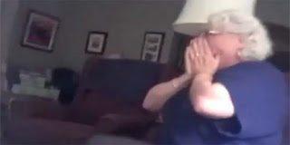 Η απρόσμενη αντίδραση μιας γιαγιάς όταν της ανακοίνωσαν πως θα αποκτήσει εγγονάκι