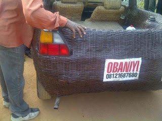 Αληθινό - Το χειροποίητο αυτοκίνητο στους δρόμους της Νιγηρίας
