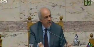 Ο Μεϊμαράκης  έβρισε στην Βουλή – Ακούστε τι είπε