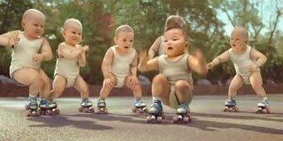 Όταν τα μωρά χορεύουν