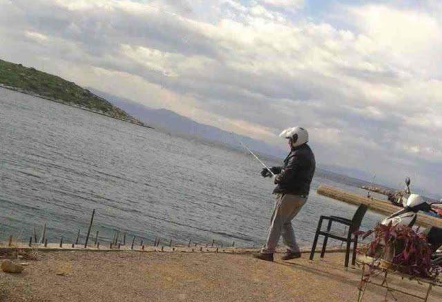 Ο ψαράς που κάνει θραύση