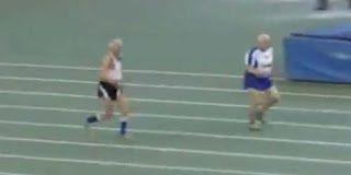 Οι δυο παππούδες 95 χρονών που έτρεξαν στα 60 μέτρα – Video