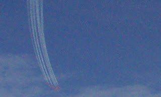 Τα Red Arrows επέστρεψαν στο αεροδρόμιο Ανδραβίδας