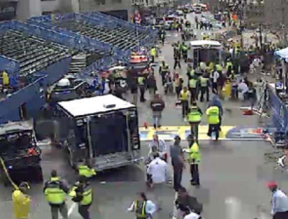 Εκρήξεις σημειώθηκαν στον Μαραθώνιο της Βοστώνης
