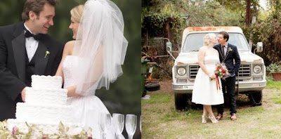Ο γάμος του γεμάτος πολυτέλεια