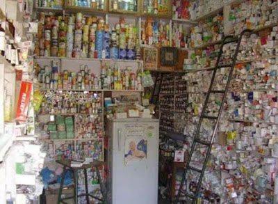 Έτσι είναι τα φαρμακεία στην Ινδία.2