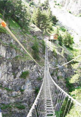 Tibetan bridge