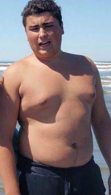 Ήταν φοιτητής και ζύγιζε 120 κιλά.