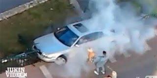 Θέλησε να καταστρέψει το αυτοκίνητό του