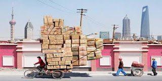 Απίστευτες φωτογραφίες με Κινέζους ταχυδρόμους