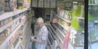 Μεταφυσική δραστηριότητα σε κατάστημα