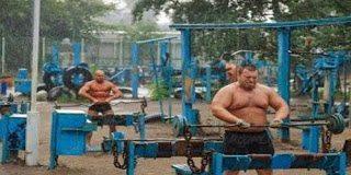 Δείτε το υπαίθριο γυμναστήριο