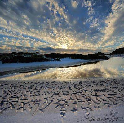 καλύτερος καλλιγράφος της παραλίας παγκοσμίως