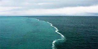 Όταν δυο θάλασσες ενώνονται