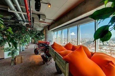 Τα γραφεία της Google, στο Τελ Αβίβ