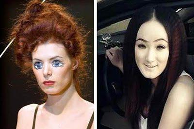 Ορισμένες γυναίκες δεν το έχουν καθόλου με το μακιγιάζ 2