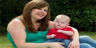 Η ιστορία του μωρού που γεννήθηκε με κύστη 13 εκατοστών στο λαιμό του
