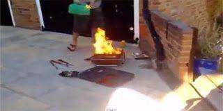 Θέλησε να ψήσει και παραλίγο να βάλει φωτιά στο σπίτι του