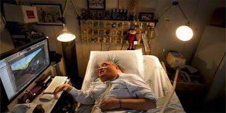 Ο άνθρωπος που ζει 45 χρόνια στο νοσοκομείο και έχει καταφέρει το ακατόρθωτο