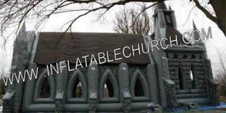 Δείτε την φουσκωτή Εκκλησία- Και όμως αληθινό (pics)