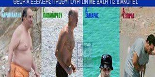 Αστείες φώτο... Η εξέλιξη των Πρωθυπουργών της Ελλάδας