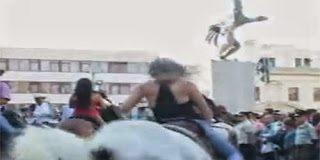Κρίμα το καμάρι – Έπεσε από το άλογο ακριβώς εκεί που....