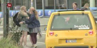 Ξεκαρδιστικό video – Κόρνα τρένου σε αυτοκίνητο