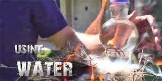 Μάθε πως να ανάβεις φωτιά με νερό