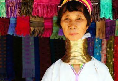 το ιδιαίτερο piercing της φυλής των Matsés και Matis