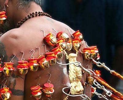 το ιδιαίτερο piercing της φυλής των Matsés και Matis 2