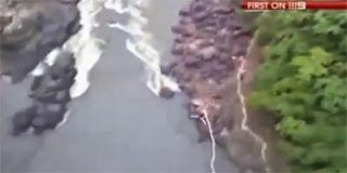 Έκανε Bungee Jumping και του κόπηκε το σχοινί