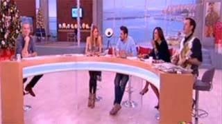 """Η Σκορδά """"μπούκαρε"""" στην εκπομπή του Κωστόπουλο και ο παρουσιαστής..."""