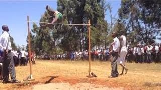 Έτσι κάνουν άλμα εις ύψος στην Κένυα