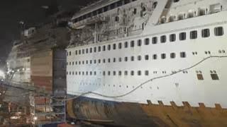 Εντυπωσιακό video – Κρουαζιερόπλοιο κόβεται στη μέση