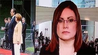 Συγκινημένος ο Μπόμπολας αποχαιρέτησε την Μαρία Σπυράκη