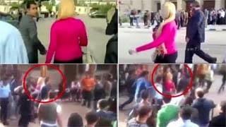 Δείτε τι γίνετε όταν μια ξανθιά μπαίνει στο πανεπιστήμιο στο Κάιρο - video