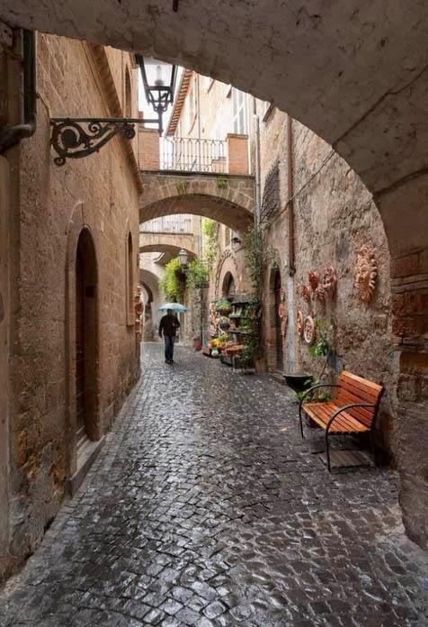 Ορβιέτο, Ιταλία