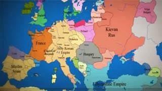 Δείτε πως άλλαξαν τα σύνορα της Ευρώπης τα τελευταία 1000 χρόνια μέσα σε 3,5 λεπτά