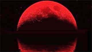 Ματωμένο φεγγάρι τη Μεγάλη Τρίτη
