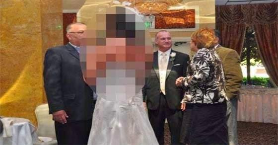 Αυτή η νύφη δεν περνά απαρατήρητη