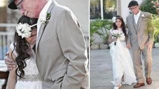 Ετοιμοθάνατος πατέρας συνόδεψε συμβολικά την 11χρονη κόρη