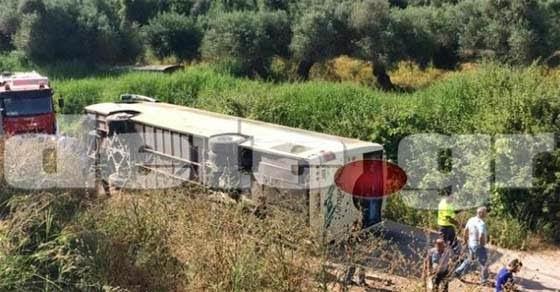 Σοβαρό τροχαίο ατύχημα με λεωφορείο του ΚΤΕΛ στη Πάτρα