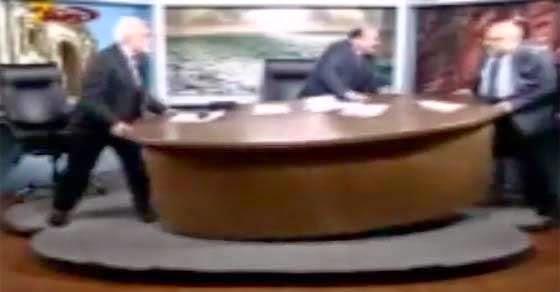 Ιορδανία Δημοσιογράφοι σήκωσαν τηλεοπτικό στούντιο